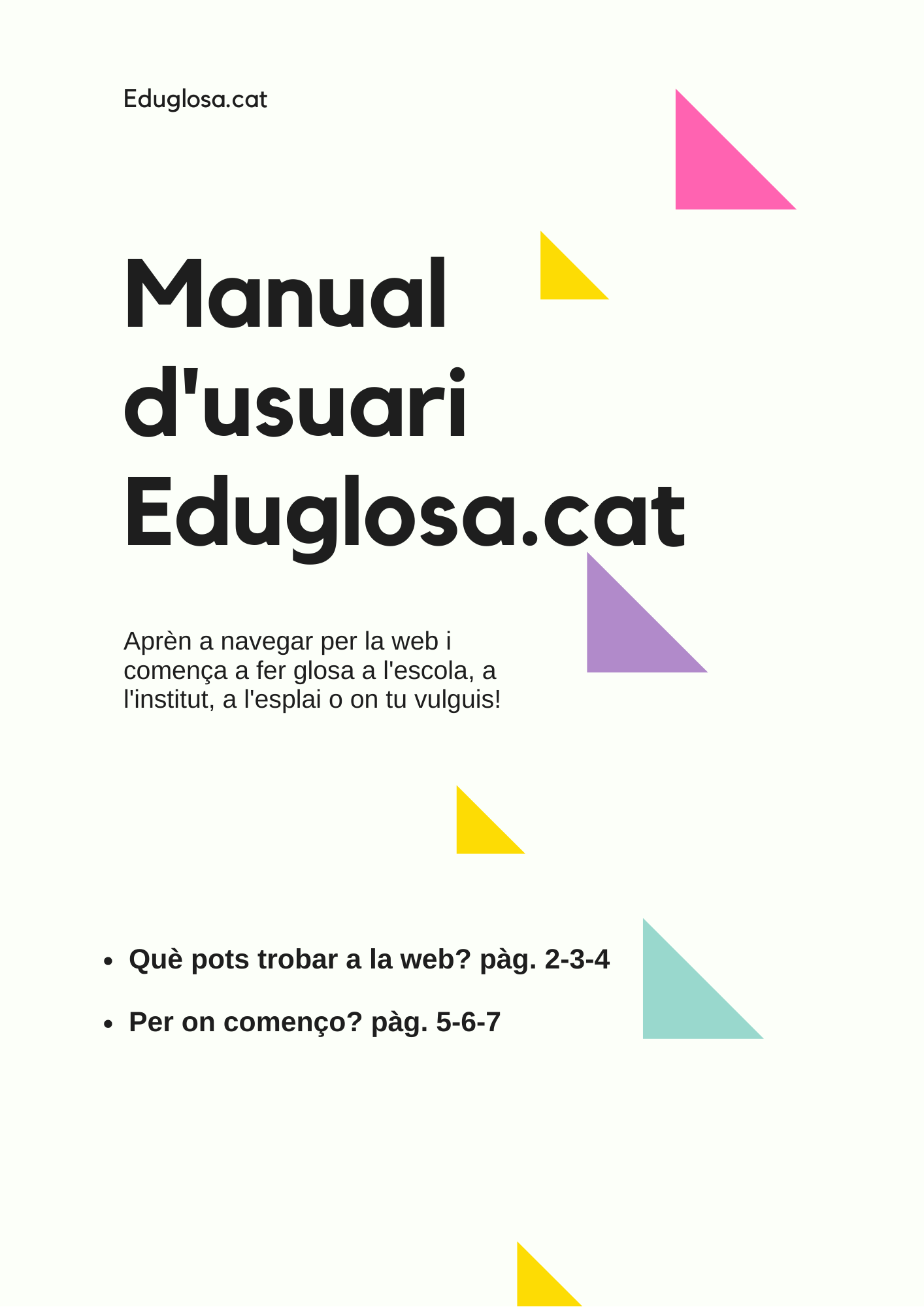Manual d'ususari Eduglosa